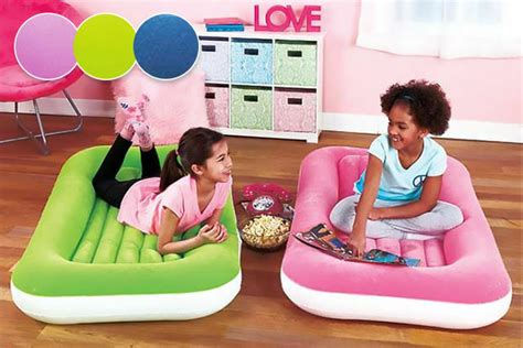 Junior Airbed Airlock Kids Inflatable Child Kiddy Air bed