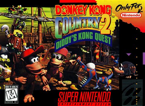 Donkey Kong Country 2: Diddy's Kong Quest | Nintendo