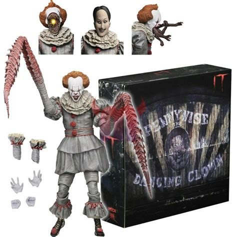 Neca IT: Ultimate Dancing Clown Pennywise 7 inch Scale