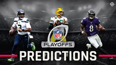 NFL playoff picks, predictions for AFC, NFC brackets and