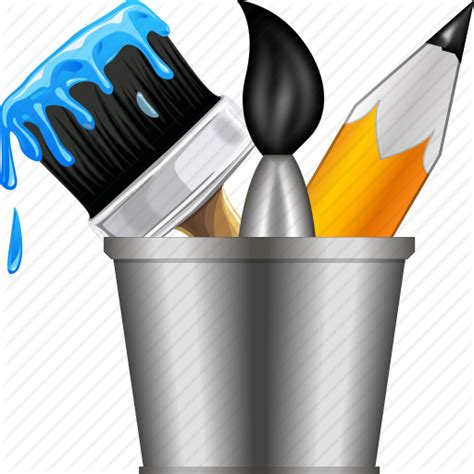 10 Drawing Tools Icon Images - Graphic Design Drawing