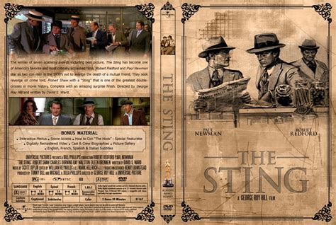 Sting, The - Movie DVD Custom Covers - 3157TheSting2