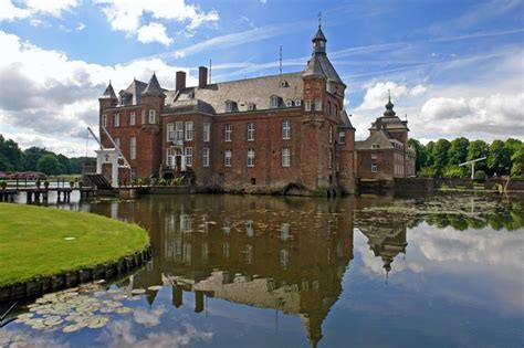 Castle Anholt in Germany, near the Dutch border