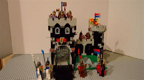 Vintage Lego 6086 Black Knights Castle Review - YouTube