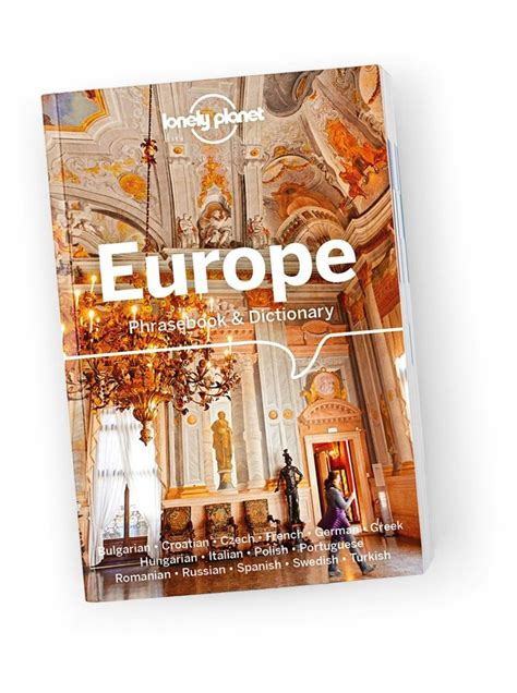 Europe Phrasebook & Dictionary - Lonely Planet US