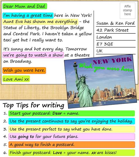 A postcard from New York   LearnEnglish Teens - British