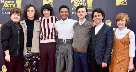 The Kids from 'It' Attend the MTV Movie & TV Awards 2018