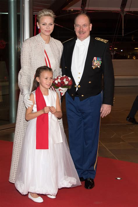 Monaco Princely Family attended the National Day Gala in