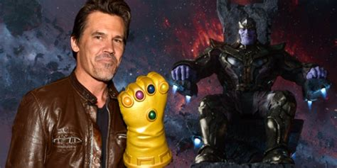 'Avengers: Infinity War': Josh Brolin Comments On Thanos Cover
