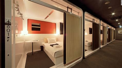 Tokyo's capsule hotels: See inside some of these posh pods