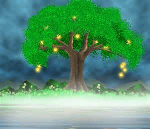 Learn Drawing a Magical Tree from the scratch in Photoshop