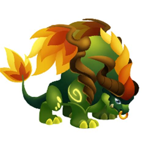 Forest Lord Dragon :: Legendary type Dragon details and