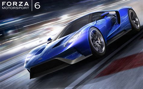 Ford GT Forza Motorsport 6 Wallpapers | HD Wallpapers | ID