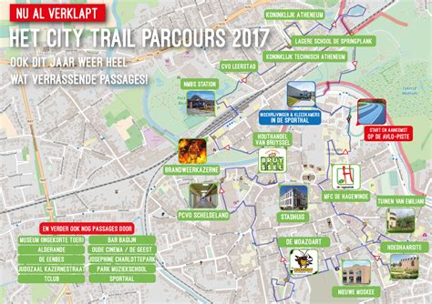 Parcours - Runners' Lab City Trail Lokeren