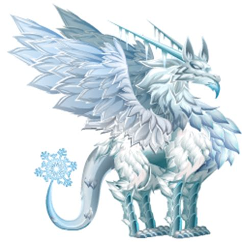 Frost Dragon :: Very rare type Dragon details and