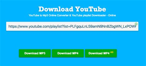 Best YouTube Playlist to MP3 Converters for Mac, Android