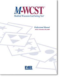 PAR | M-WCST | Modified Wisconsin Card Sorting Test