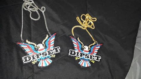 Custom dipset chains for Purdue Nyce - YouTube