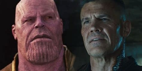 Josh Brolin Thinks It Would Be Fun for Thanos and Cable to