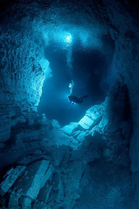The Largest Gypsum Underwater Cave in the World – Orda