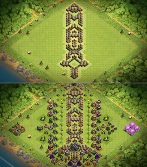 [Base] Maxed out my th9 : ClashOfClans