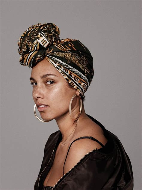 INTERVIEW   Alicia Keys talk about about the optimism and