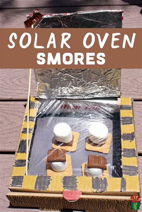 DIY Solar Oven Smores {Kids Science Experiment}