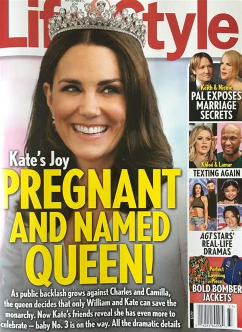 Kate Middleton: Pregnant with Baby #3! FOR REAL! - The