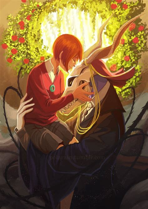 Image result for Ancient Magus Bride art love | Animation