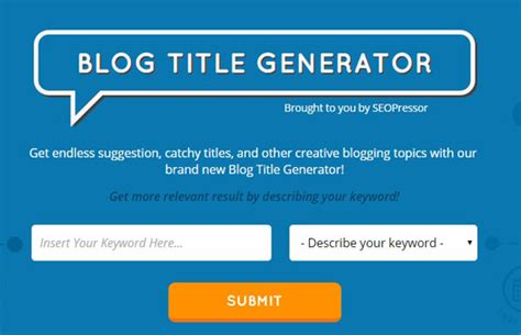 7 Life-Saving Tools to Generate More Blog Titles Right Now