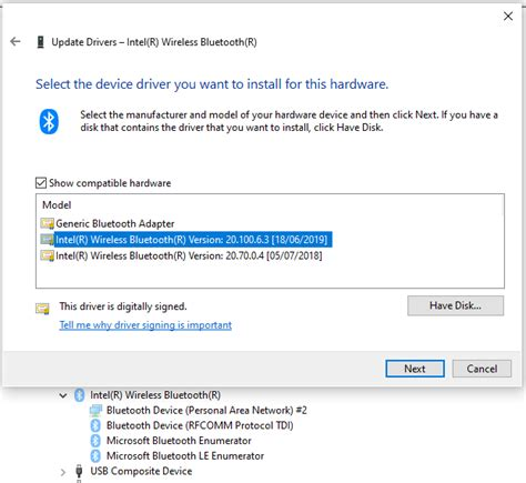 Bluetooth disappeared from Device Manager on Pavilion All