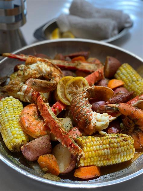 Lobster & King Crab Boil   The Oceanaire   Fine dining