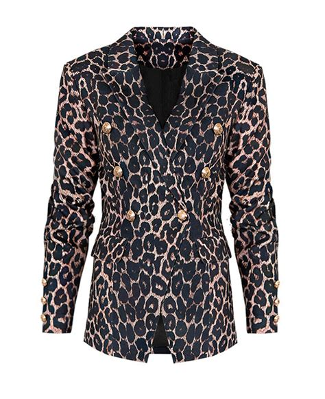Luxe Panterprint Blazer  Musthaves For Real