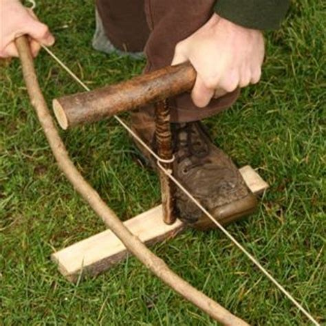 Bow Drill Primitive Fire Starting Skills Method   The