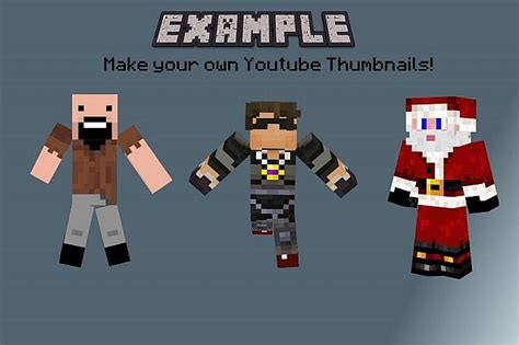 How to get your OWN Custom Youtube Thumbnails! Minecraft Blog