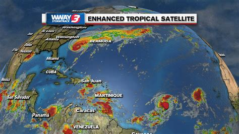 BUSY TROPICS: Humberto, Imelda, and TD 10 spin in the