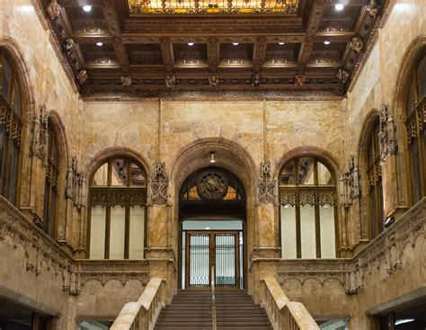 A Rare Look At The Ornate Interior Of The Woolworth