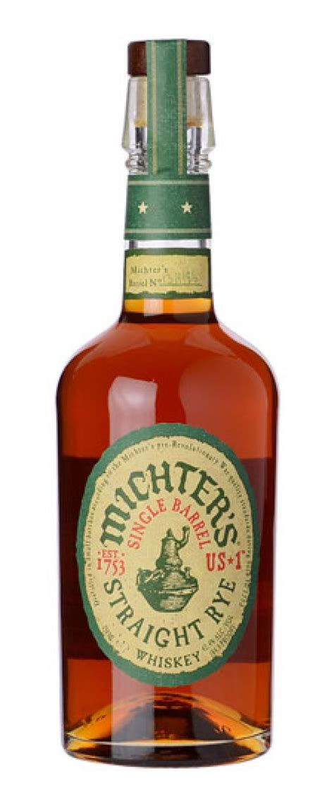 Michter's US #1 Single Barrel Straight Rye Ratings and